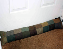 house insulation excluder cushion