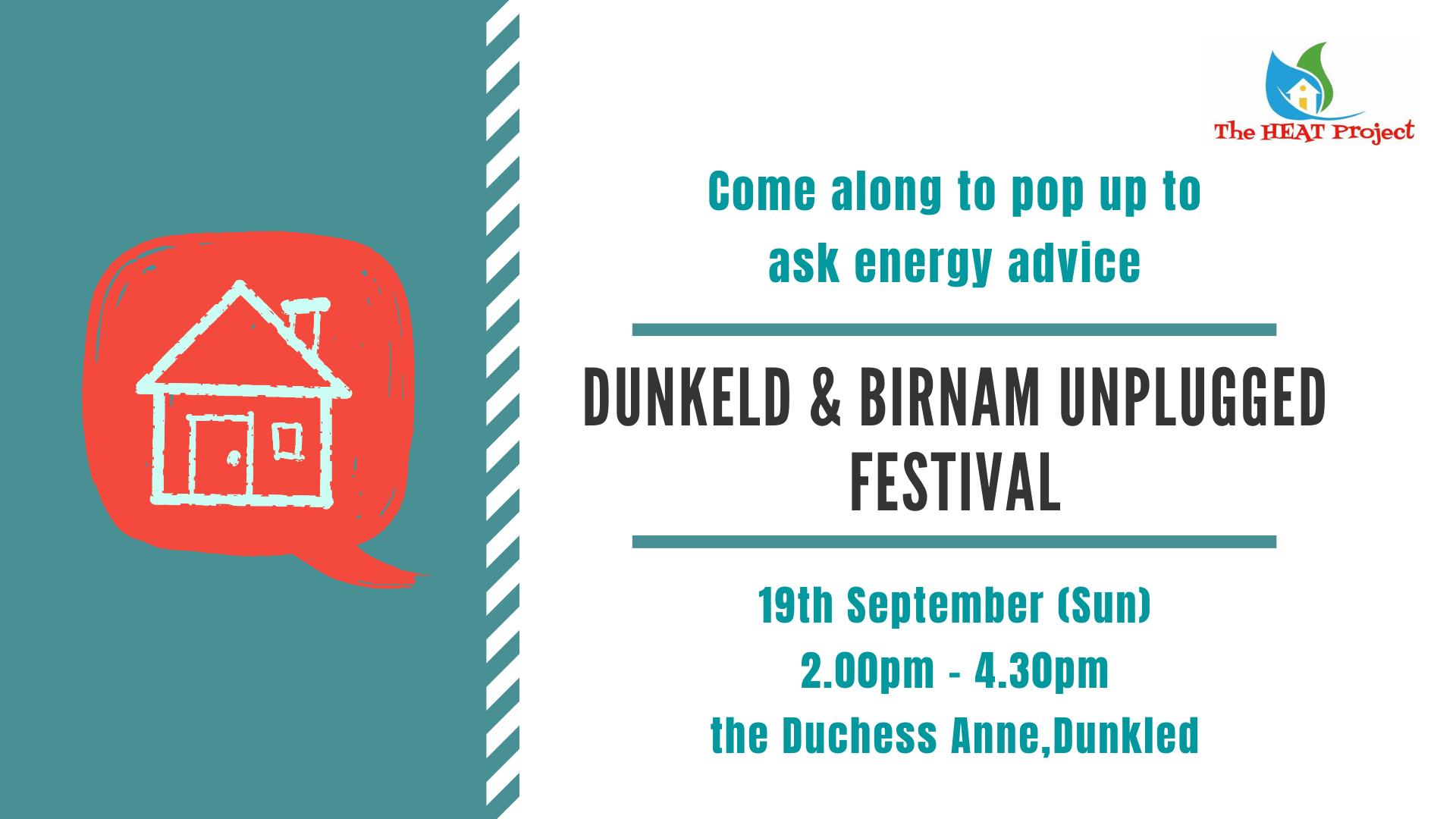 Dunkeld & Birnam Unplugged Festival